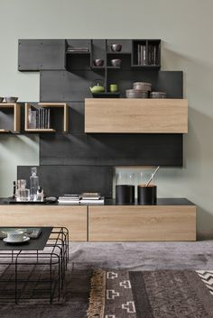 Стенки в зал: обзор современной и функциональной мебели для гостиной http://happymodern.ru/stenki-v-zal-45-foto-vybiraem-idealnuyu-mebel/ Небольшая стильная стенка с полочками открытого и закрытого типа Смотри больше http://happymodern.ru/stenki-v-zal-45-foto-vybiraem-idealnuyu-mebel/