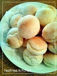 「白玉粉とホットケーキミックスで作る★ポンデケージョ」材料混ぜてオーブンで20分!簡単に作れるポンデケージョです。【楽天レシピ】