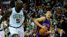 Wait a sec, Garnett! Let me get a handle on this ball before you go poking at it.