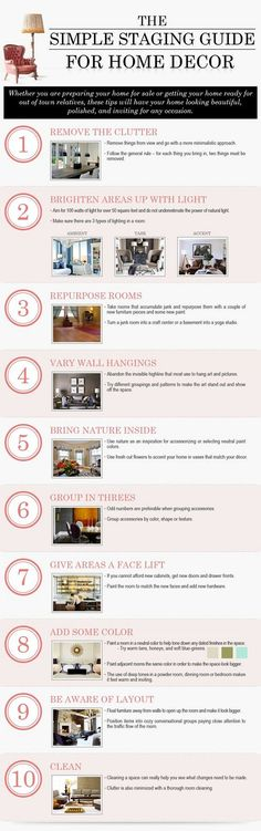 Home staging tips to sell your home faster. #Homestaging