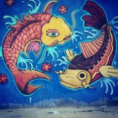 Pocitos, Montevideo,Uruguay.Street art.
