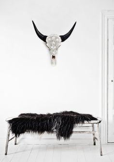 Design Warrior - The Designer Pad Love Warriors, Cut Animals, Animal Bones, Animal Heads, Animal Skulls, Interior Styling, Interior Ideas, African Art, Home Decor Inspiration