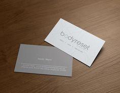 Body Reset (Corporate & Marketing Collaterals) #design #corporate #creative #businesscard #collateral #graphicdesign #verzdesign