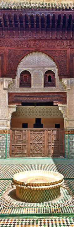 Bou Inania Madrasa, Meknes, Morocco