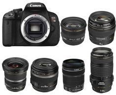 Best Lenses for Canon EOS 650D / Rebel T4i   Camera News at Cameraegg