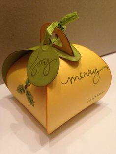 Curvy keepsake box van stampin'Up! Made by creamelanie/stampin.mel