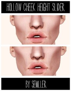 CAS - Facial Sliders on Pinterest | Sliders, Sims 3 and Shape