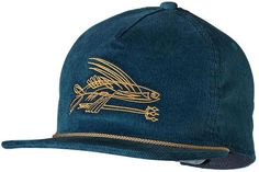 c7ea9f0c7e4 Patagonia Pinstripe Flying Fish Hat Blue Hats