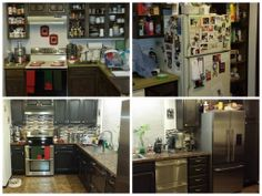 """Giani Granite Makeover  """"One month ago I decided that my 70's kitchen had to go! Today, I stand in awe of the transformation. Thanks for your excellent products. I used Cocoa Couture for the cabinets and Chocolate Brown for the counters."""" www.gianigranite.com"""