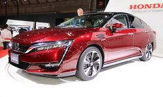 Honda Starts Selling of Clarity Fuel Cell hydrogen-Powered Car http://www.autotribute.com/43607/honda-starts-selling-of-clarity-fuel-cell-hydrogen-powered-car/ #HondaClarity #HydrogenCar #NoGas