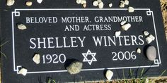 Shelley Winters (1920 - 2006) Actress.