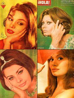 Sophia Loren & Rika Diallina