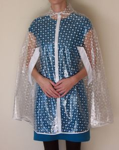 Dang it, I missed it! Lovely rain cape courtesy of Etsy... has inspired me to look for others like it.