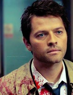 Blood angel - #Supernatural #Castiel - Cas is hot in this picture!!