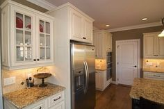 Hampton Linen - traditional - kitchen cabinets - other metro - Quality Stone Concepts