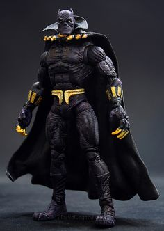 Marvel Legends Sentinel Series Black Panther // Pinned by: Marvelicious Toys - The Marvel Universe Toy & Collectibles Podcast [ m a r v e l i c i o u s t o y s . c o m ]