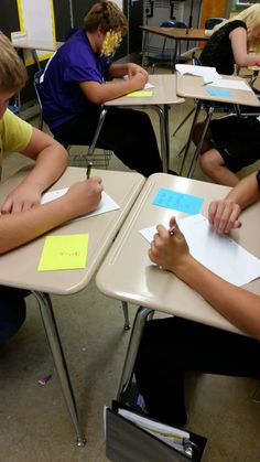 Tales of a High School Math Teacher: Speed Dating Activity