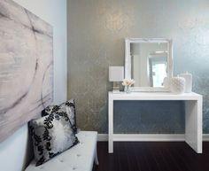 Luxury small condo design and decor