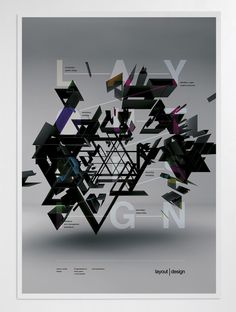 Poster artwork, March 2012 by MARIOS KORDILAS, via Behance