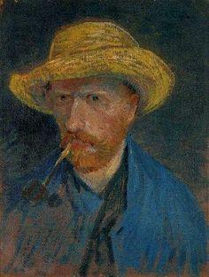 Van Gogh Self-portrait, 1887 - 09