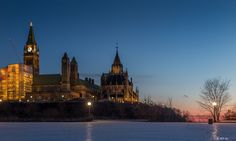 The Parliament Hill, Ottawa.