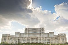 The Most Hated Landmarks in the World: Palace of Parliament: Bucharest, Romania Places To Travel, Places To See, Palace Of The Parliament, Big Building, Peter The Great, Amazing Architecture, Taj Mahal, Vacation, Bucharest Romania