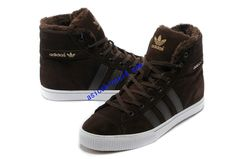 newest 525a3 ffe0b Full Of Half Off Cheap Adidas Skate Shoes,Adidas Originals Aditennis Hi Lux  Brown White 913576