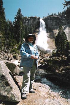 Hike to Nevada Falls, Yosemite National Park, California, April 2006.
