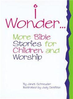 I Wonder . . .