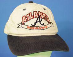 Atlanta Braves Baseball Cap Snapback Hat Adjustable Red White Blue Embroidered #Signatures #Snapback