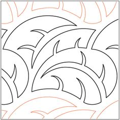 """A single row is 8"""" wide– printed with one row – 144"""" long  © 2014Hermione Agee * This design is available in both paper and digital. Please select your preference below. NOTE:   All digital designs include the following conversions:  CQP, DXF, HQF, IQP, MQR, PAT, QLI, SSD, TXT, WMF and 4QB or PLT. Most designs also include a DWF, GIF and PDF. This pattern was converted by Digitech."""
