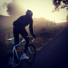 Alarm set at 5:43 for a morning ride