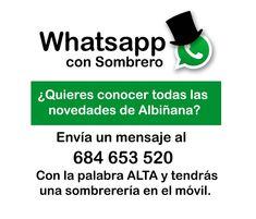 Recuerda que puedes realizar tu consulta o tu pedido también por Whatsapp.