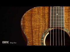 Breedlove KING KOA Guitar - YouTube