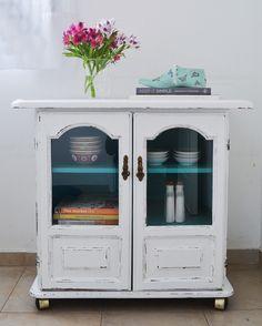 Para dos muebles de algarrobo: Blanco & Color III {Aguamarino}: Vero Palazzo - Home Deco