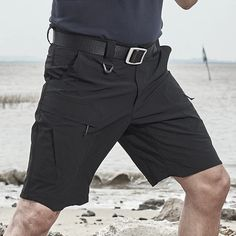 Archon Quick Dry Tactical Stretch Shorts are engineered to provide superior performance in hot and humid climates. Super lightweight and durability. Buy best Waterproof Tactical Shorts at lowest price now. Black Tactical Pants, Tactical Vest, Tactical Clothing, Camouflage, Tactical Chest Rigs, Steel Toe Work Shoes, Stretch Shorts, Quick Dry, My Style