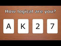Το τεστ λογικής Wason: Μόνο το 4% των ανθρώπων απαντάει σωστά – Δοκιμάστε κι εσείς… [vid]
