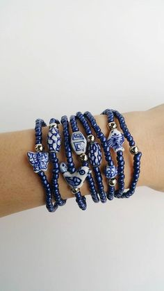 Check out this item in my Etsy shop https://www.etsy.com/pt/listing/197958904/oxford-blue-friendship-bracelets-boho