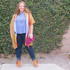Peplum Tee: Wear it Now, Wear it Later | Designing From My Closet | Plus