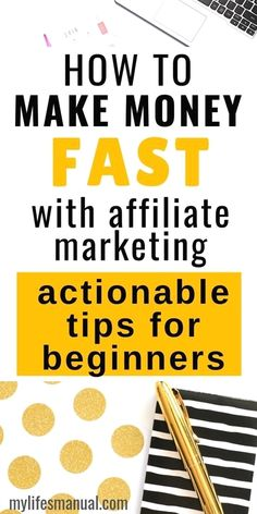Affiliate marketing for beginners. What is affiliate marketing. Learn actionable steps on how to do affiliate mark. - learn how to make money online from affiliate marketing Marketing Logo, Affiliate Marketing, Marketing Program, Marketing Digital, Business Marketing, Internet Marketing, Marketing Videos, Online Business, Facebook Business