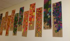 5th Grade Art | Fifth graders exploring relief sculptures and recycled art using empty ...