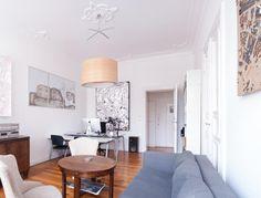 Wunderschönes Wohnzimmer in Berliner Wohnung in Wedding.  Wohnen in Berlin. #berlin #wedding #wohnung