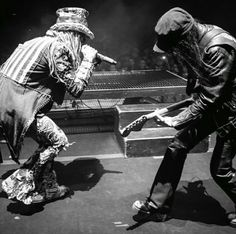 Zombie and Mick Mars