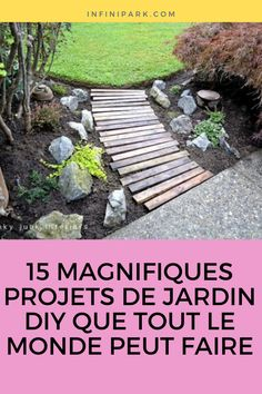 Voici 15 projets de jardinage DIY qui ne devraient pas être difficiles à réaliser. #influenceimmo #conseils #astuces #maisonn #trucs Farmhouse Garden, Garden Projects, Garden Landscaping, Diy Home Decor, Landscape, Outdoor Decor, Nature, Permaculture, Moment
