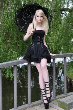 Gothic Doll Stock by MariaAmanda.deviantart.com on @deviantART