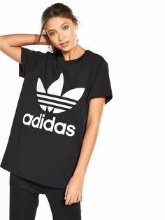 1ad4e8f5c9e adidas Originals adicolor Big Trefoil Tee - Black