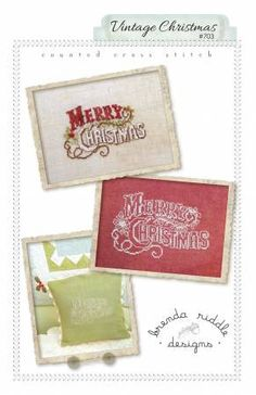 Vintage Christmas Cross Stitch Patterns