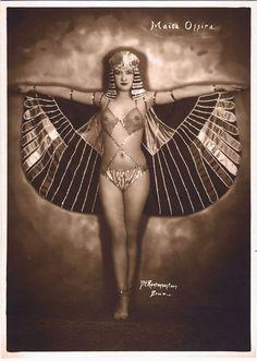 Maita Ossira  photographed by Joseph Rentmeesters c. 1920