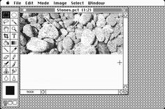 """Before """"Photoshop"""" became a verb, it was a piece of software designed by John Knoll to display grayscale images on a Macintosh computer's black-and-white screen. Turning 25, Quarter Life Crisis, Grayscale Image, 25 Years Old, How To Become, Black And White, Photoshop, Image Editor, Division"""