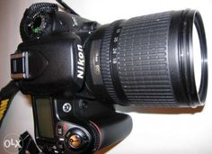 Nikon d80 with 28-105mm manual lens